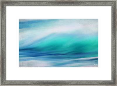 Waves Framed Print by Lourry Legarde