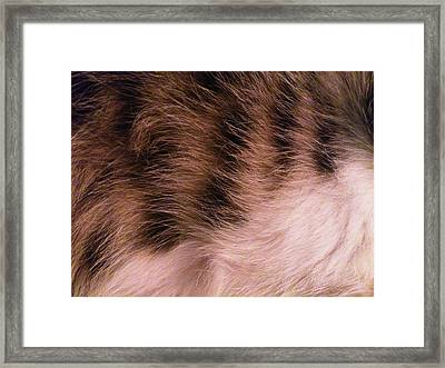Waves Framed Print by Lucy D