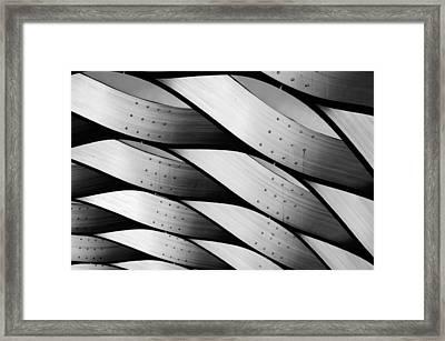 Waves Framed Print by Nathan Heldman
