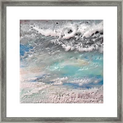 Waves No. 2 Framed Print by Victoria Primicias