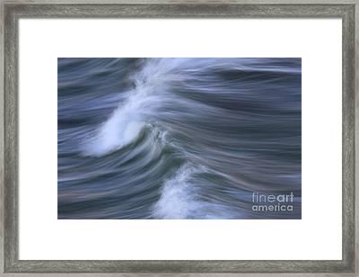 Wavescape Framed Print by Katherine Gendreau