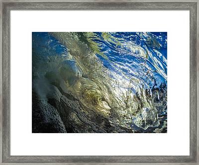 Wavey Gravy Framed Print by David Alexander
