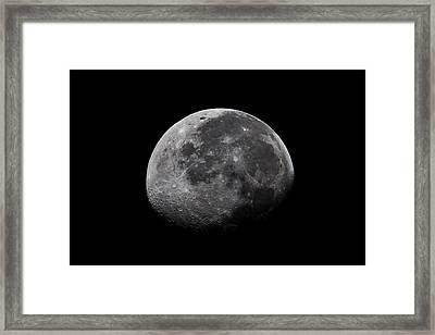 Waxing Moon Framed Print by Nila Newsom