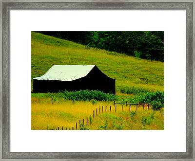 Way Back When Framed Print by Karen Wiles