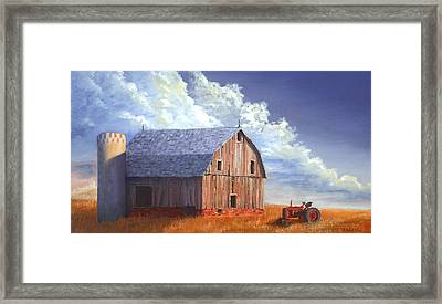 Way Out West Framed Print by Jerry McElroy
