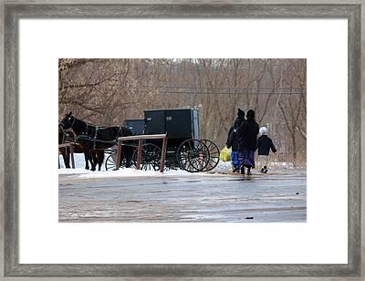 Wayne County-1 Framed Print by R A W M
