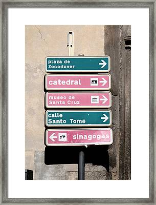 Ways Framed Print by Roberto Alamino