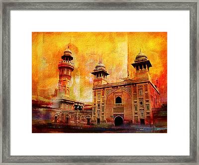 Wazir Khan Mosque Framed Print by Catf
