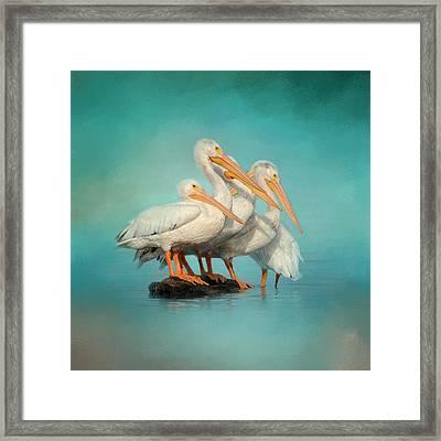 We Are Family Framed Print by Jai Johnson
