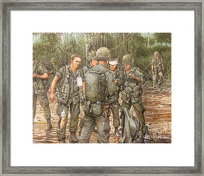 We Are Our Brothers' Keepers Framed Print by Bob  George
