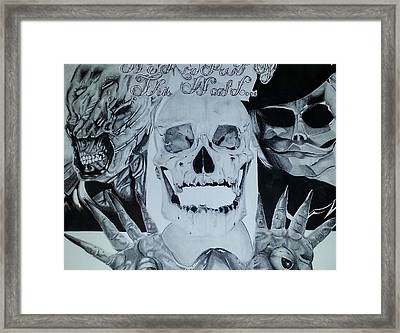 We Are Part Of This World Framed Print by Adam Longoria
