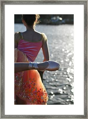 We Are Such Stuff As Dreams Are Made On Framed Print by Laura Fasulo