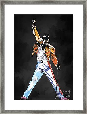 We Are The Champions  Framed Print by Andrzej Szczerski