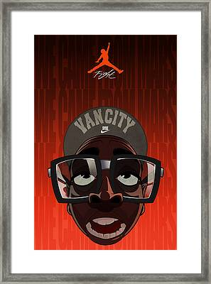 We Came From Mars Framed Print by Nelson Dedos  Garcia