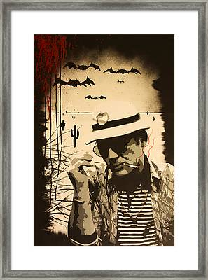 We Can't Stop Here Framed Print by Bobby Zeik