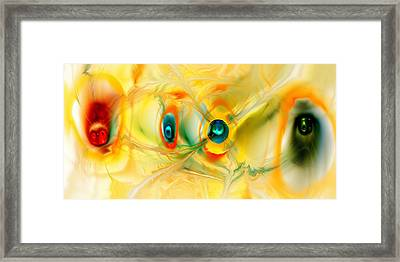 We Come In Peace Framed Print by Anastasiya Malakhova