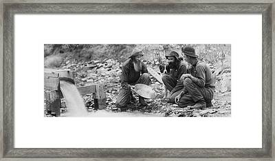 We Have Nothing Circa 1889 Framed Print by Aged Pixel