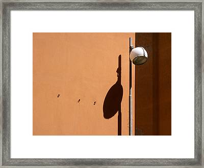 We Walk On The Street Of Dreams.. Framed Print by A Rey