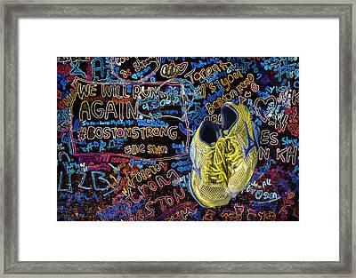 We Will Run Again Framed Print by Penny Pesaturo