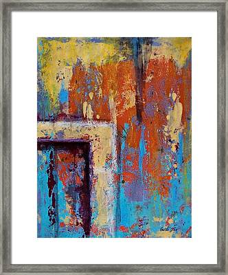 Weather And Memories  Framed Print by Cristiana Marinescu