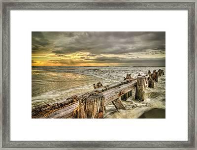 Weather Break Framed Print by Steve DuPree