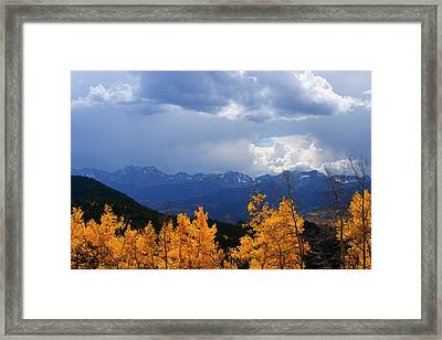 Weather Window Framed Print by Jeremy Rhoades