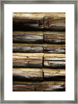 Weathered And Worn Framed Print by Newel Hunter