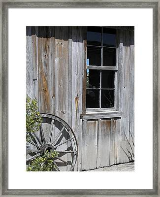 Weathered House Framed Print by Alison Quarles
