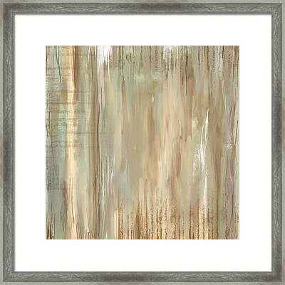 Weathered Reminiscense Framed Print by Lourry Legarde