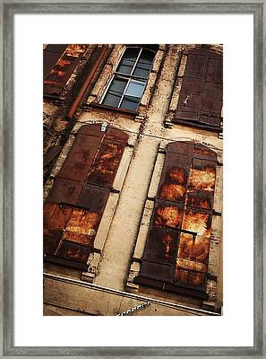 Weathered Framed Print by Thomas Zimmerman