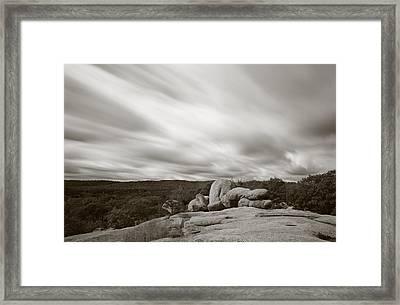 Weathering Framed Print by Scott Rackers