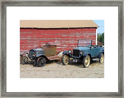 We'd Fight And Never Lose Framed Print by Kay Gilley