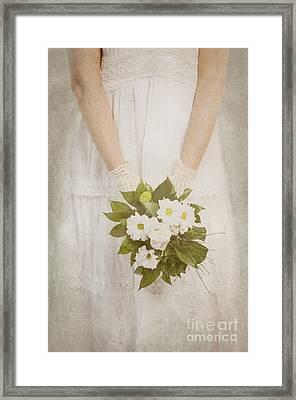 Wedding Bouquet Framed Print by Jelena Jovanovic