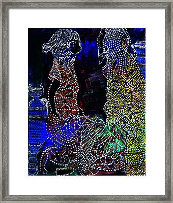 Wedding In Cana Framed Print by Gloria Ssali