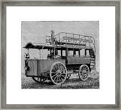 Weidknecht Steam Omnibus Framed Print by Science Photo Library