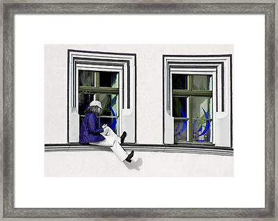 Weimar Girl Framed Print by Christine Till