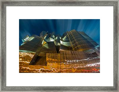 Weisman Art Museum Framed Print by Mark Goodman
