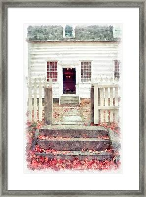 Welcome Home Framed Print by Edward Fielding