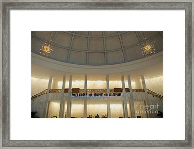 Welcome Home Framed Print by Mark Dodd