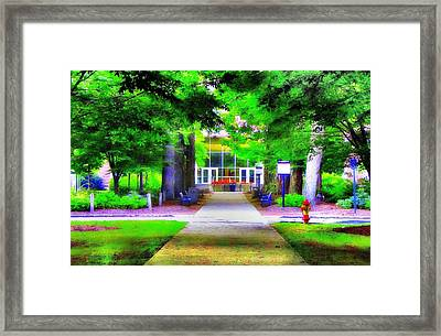 Welcome Framed Print by Luis A Vera