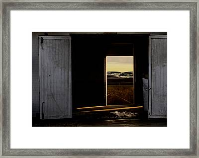 Welcome Out Framed Print by Odd Jeppesen