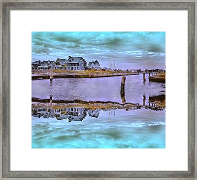 Welcome To Bald Head Island II Framed Print by Betsy C Knapp