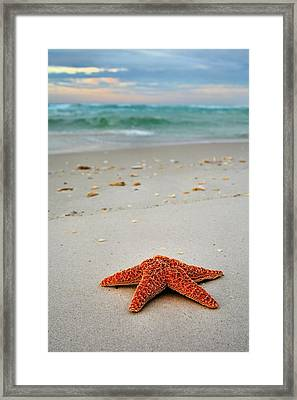 Welcome To Destin Framed Print by JC Findley