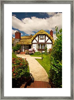 Welcome To Hobbiton Framed Print by Eti Reid
