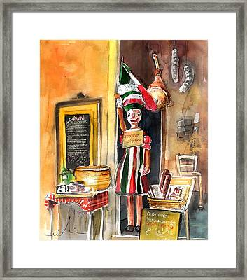 Welcome To Italy 07 Framed Print by Miki De Goodaboom