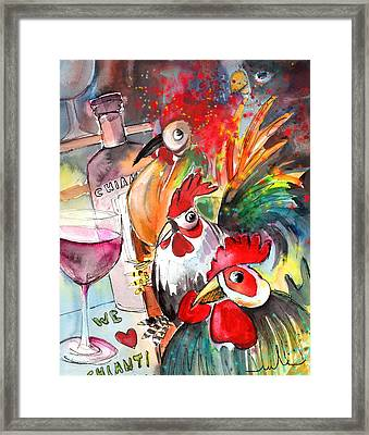 Welcome To Italy 08 Framed Print by Miki De Goodaboom
