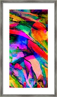 Welcome To My World Triptych Part 1 Framed Print by Angelina Vick