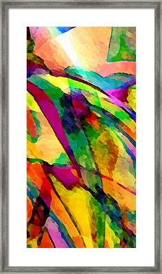Welcome To My World Triptych Part 2 Framed Print by Angelina Vick