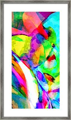 Welcome To My World Triptych Part 3 Framed Print by Angelina Vick