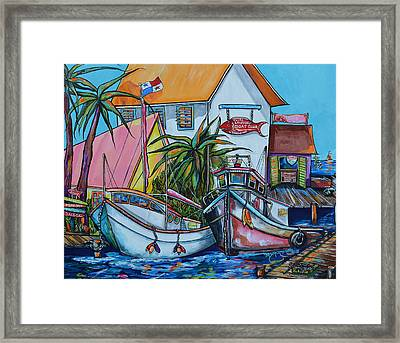 Welcome To Paradise Framed Print by Patti Schermerhorn